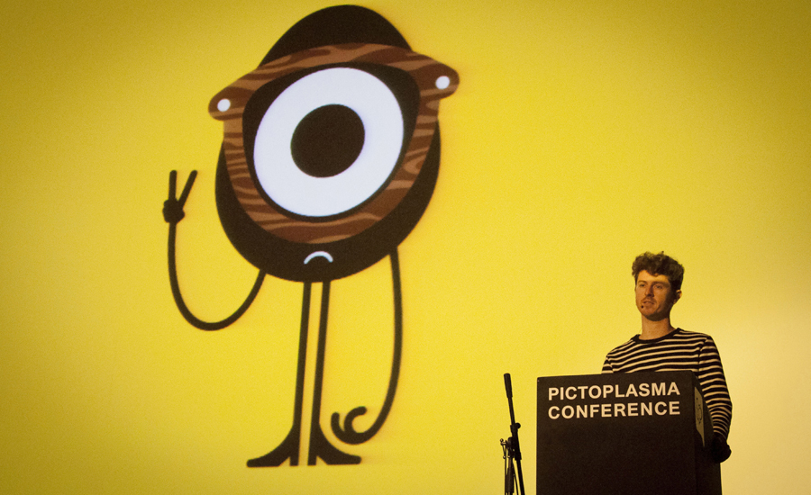 Craig Redman at Pictoplasma 2014